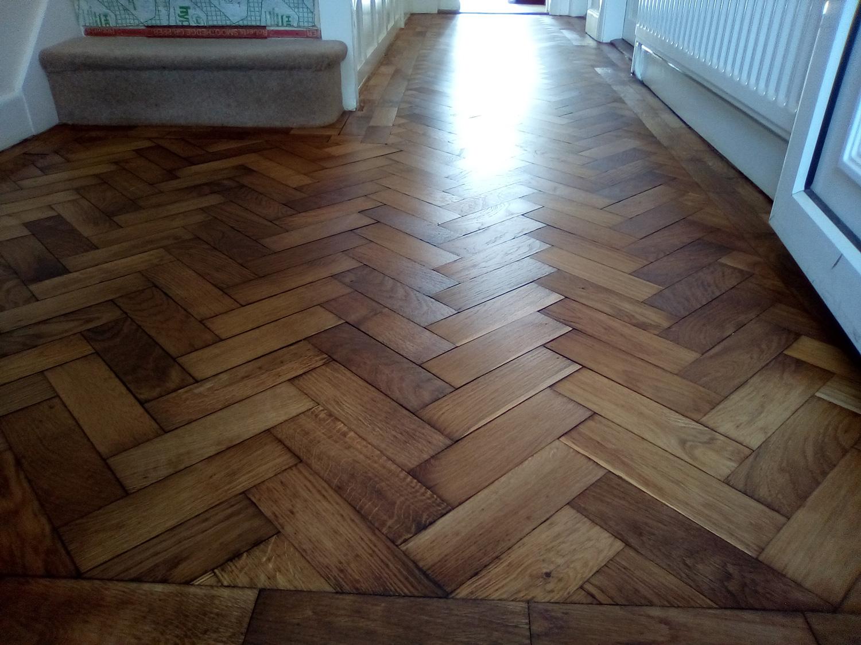 Parquet floor restoration kenilworth warwickshire