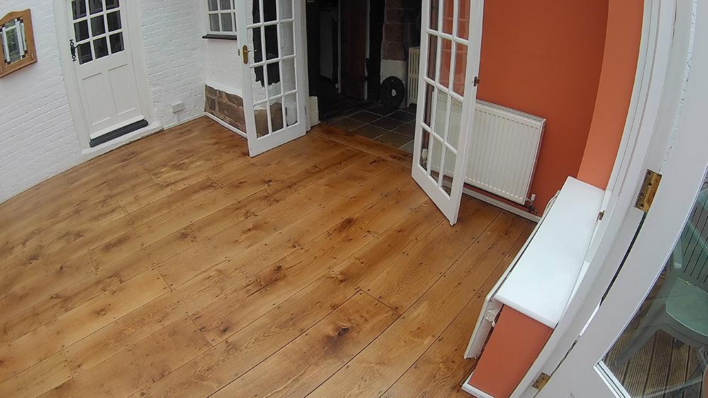 Restoring wooden floors Warwick