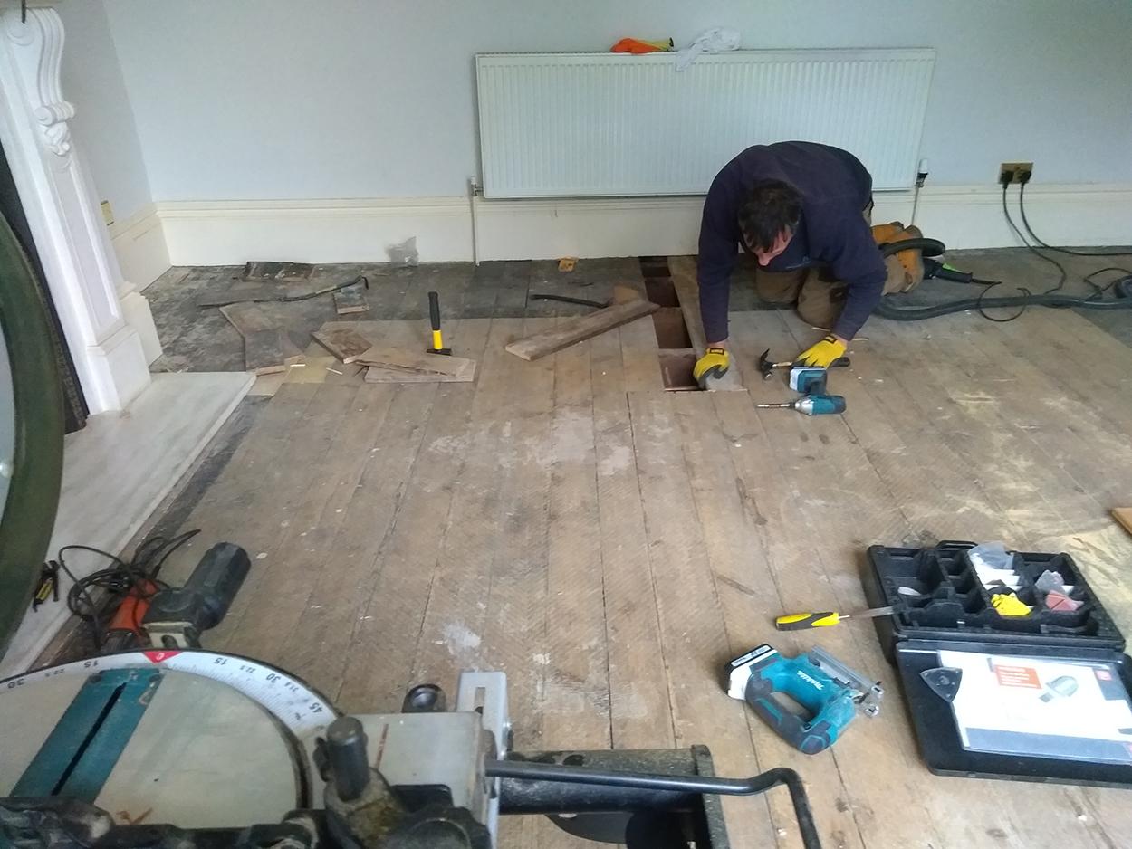 Floor sanding company in Solihull by Ormrod Floor Sanding