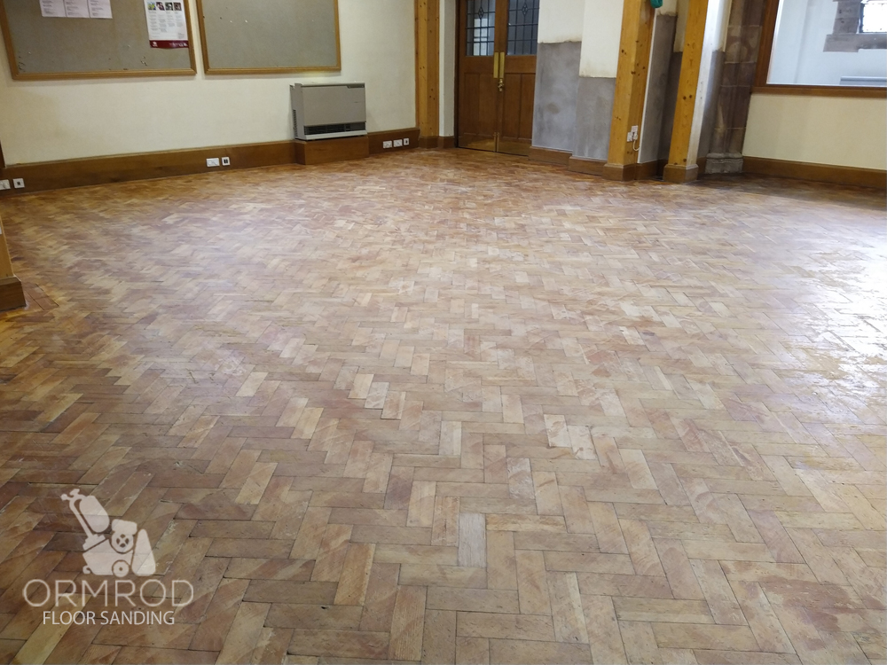 commercial floor sanding and restoration West Midlands