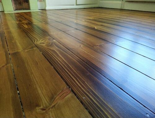 Sanding Pine Boards Kenilworth Warwickshire