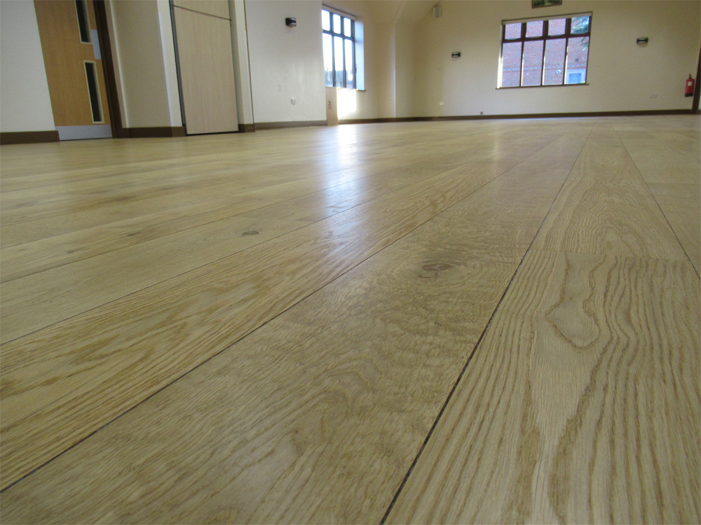 village hall community hall commercial floor sanding rugby Warwickshire