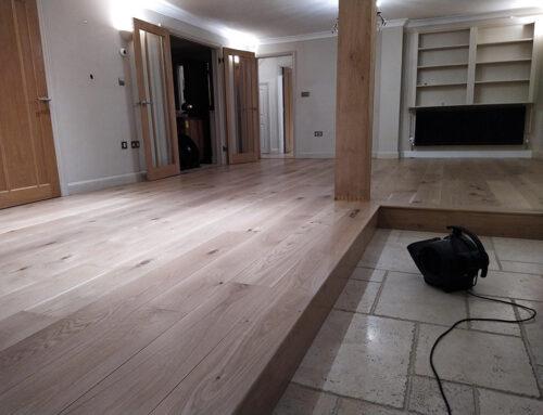 Oak Floor Restoration Kenilworth Warwickshire