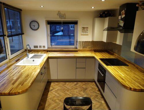 Wooden Worktop Restoration Birmingham
