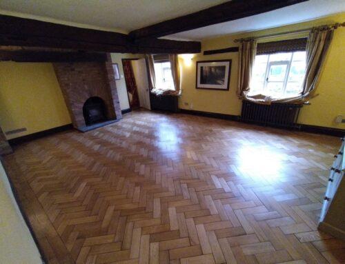 Parquet Floor Restoration Burbage Leicestershire