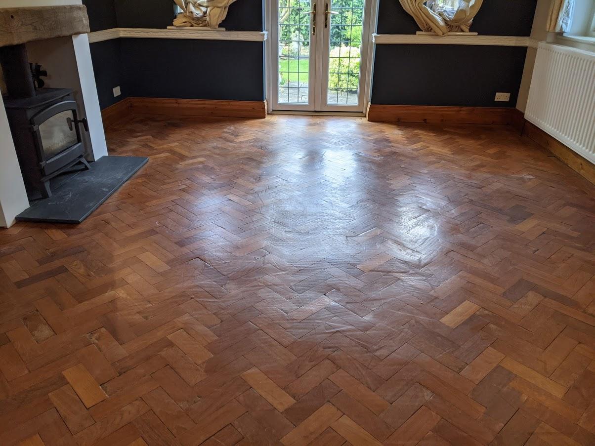 Parquet Floor Restoration Bidford on Avon