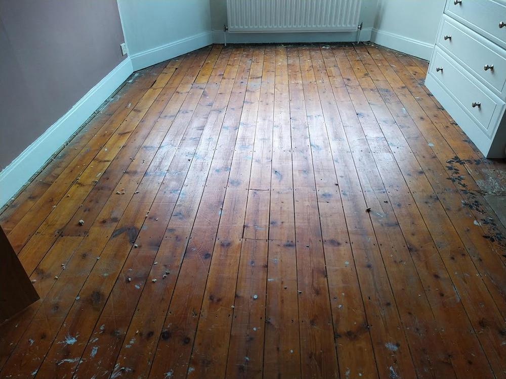 Sanding Pine Flooring Solihull