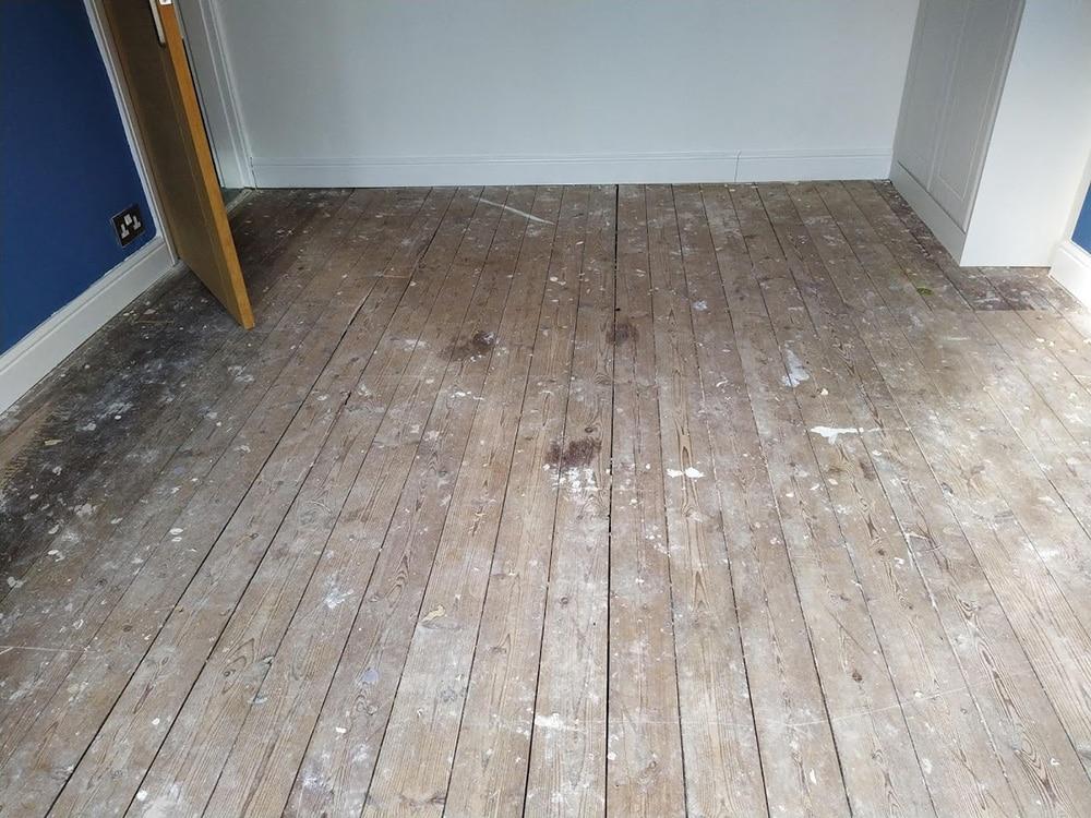 Wood floor restoration West Midlands