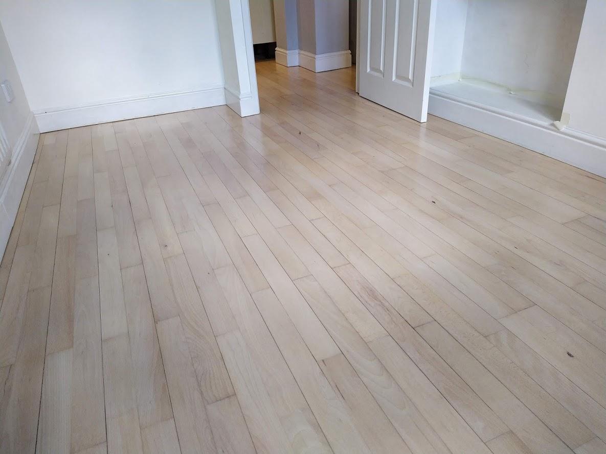Lightening beech floors Warwickshire