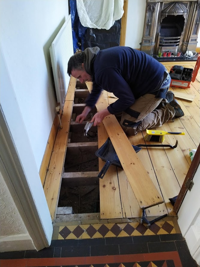 Repairing wood floors Coventry
