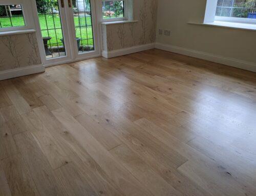 Restoring Oak Wood Floors Solihull West Midlands
